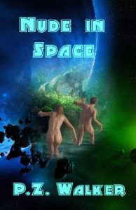 Book Cover: Nude in space
